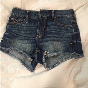 Hollister Cut Off Shorts